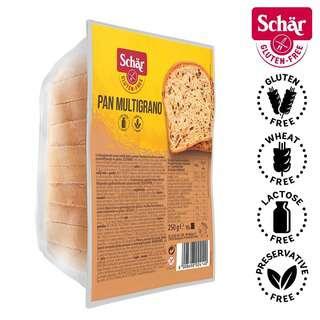 Schar Pan Multigrano, Multigrain Sliced Bread - Gluten Free