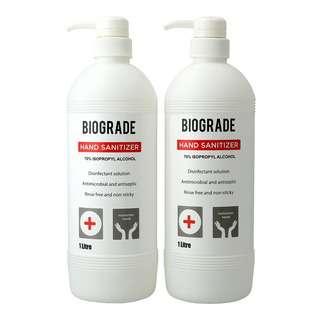 Biograde Hand Sanitizer (Pump) Pack