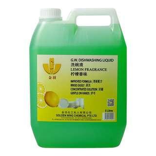 GW Dishwashing Liquid - Light Green