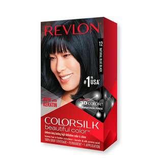 Revlon Colorsilk 3D Hair Color Hair Dye- 12 Natural Blue Blac