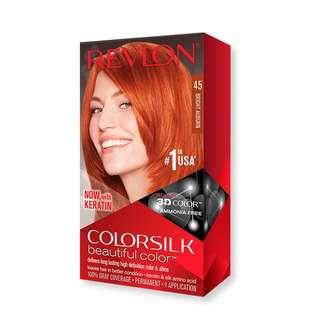 Revlon Colorsilk 3D Hair Color Hair Dye - 45 Bright Auburn