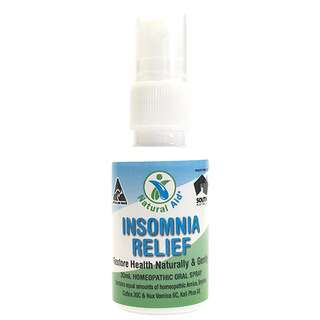 Natural Aid Insomnia Relief Oral Spray