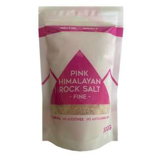 NutriRight Pink Himalayan Rock Salt