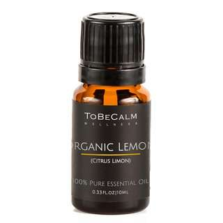 To Be Calm Organic Lemon Single Essential Oil