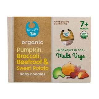 Bib gourmet Organic Pumpkin, Broccoli, Beetroot & Sweet Potat