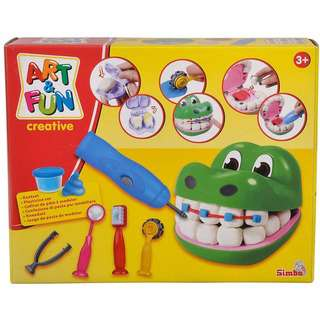 Simba Toys A&F Dough Set Crocodile Dentist