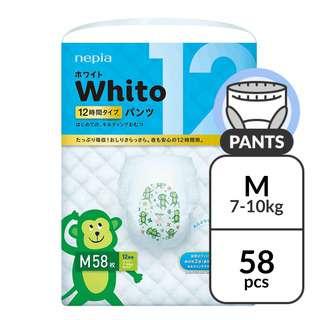 Nepia Whito Pants M 12H - (7-10kg) 58 pc