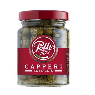 Polli 1872 Capperi (Capers With Wine Vinegar)