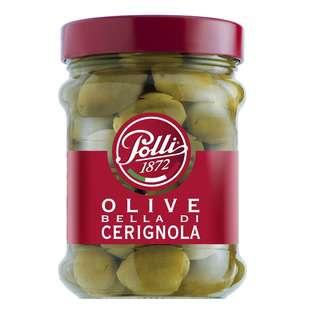 Polli 1872 Bella di Cerignola Olive (Green Olives)