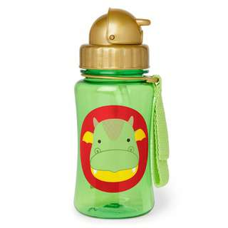 Skiphop Zoo Straw Bottle Dragon