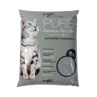 Angel Pure Premium Cat Litter Activated Charcoal 10L