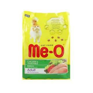 Me-O Chicken And Vegetables Dry Cat Food