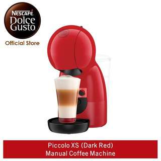 NESCAFE Dolce Gusto PiccoloXS Manual Coffee Machine - Dark Re