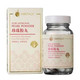 HERITAGE Pearl Powder Cap 60 pc
