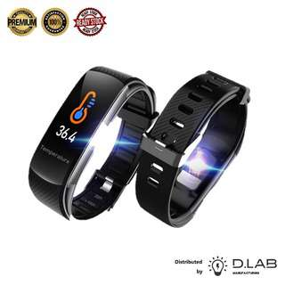D.LAB MANUFACTURING Body Temperature Fitness Tracker C6T