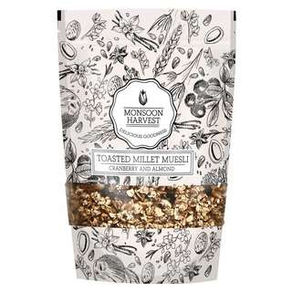 Monsoon Harvest Muesli - Cranberry And Almond