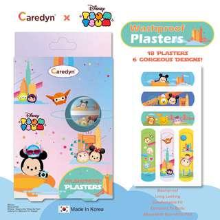 CAREDYN Tsum Tsum Plasters (18 Sheets)