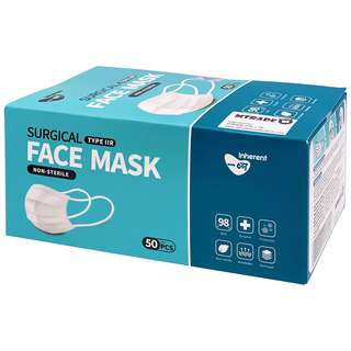 Inherent Type IIR Medical Surgical Disposable Face Mask BFE98
