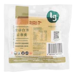 LG Wholegrain White Square Wanton Skins