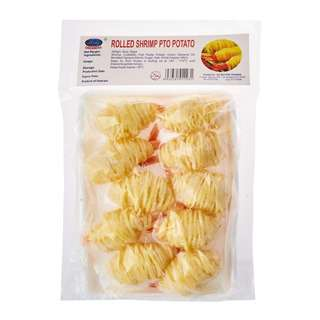 Okeanoss Potato String Wrapped Shrimp