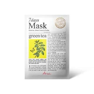 Ariul 7days Mask Green tea