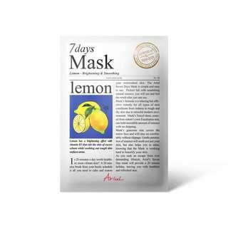 Ariul 7days Mask Lemon