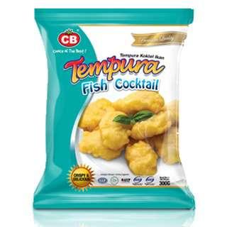 CB Tempura Fish Cocktail 34pcs