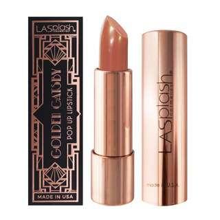 LA Splash Golden Gatsby Popup Lipstick - Grace