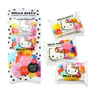 Sanrio Hello Kitty Hand n Face Wipes