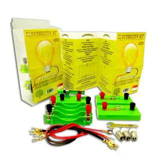 Play N Learn STEM Science 6 Experiments on Electricity Kit