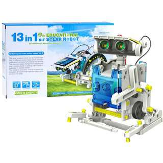 Play N Learn STEM Science 13 in 1 DIY Solar Robot Kit