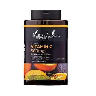 Natures Care Pro Vitamin C 500mg 250 Pc