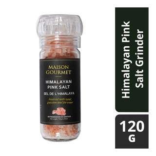 Maison Gourmet Pink Salt Grinder