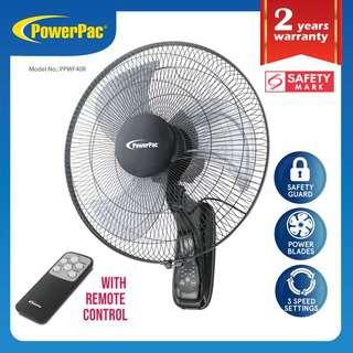 PowerPac (PPWF40R) 16 Inch Wall Fan