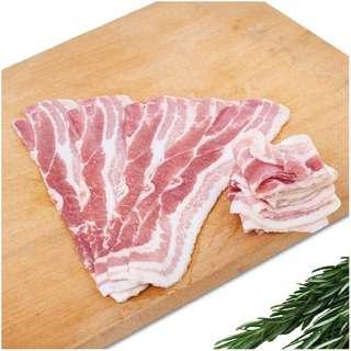 The Cellar Door Streaky Bacon Pre-sliced - Frozen