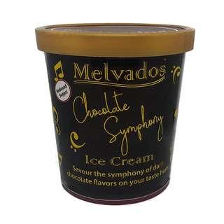 MELVADOS (Reduced Sugar) Chocolate Symphony Ice Cream