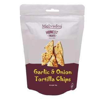MELVADOS Garlic & Onion Tortilla Chips