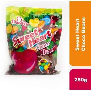 Daiana Sweet Heart Choco Beans 250g