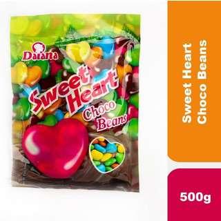 Daiana Sweet Heart Choco Beans 500g