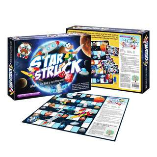 Play N Learn Star Struck Addition Subtraction Board Game