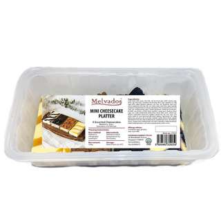 MELVADOS Mini Cheesecake Sampler