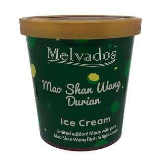 MELVADOS Mao Shan Wang Durian Ice Cream