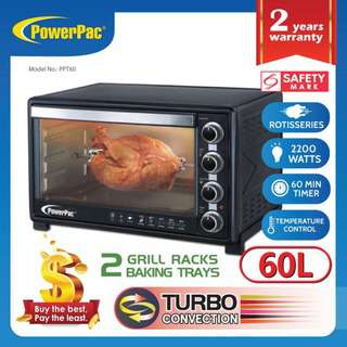 PowerPac (PPT60) 60L Electric Oven