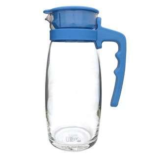 Libbey Sereno Glass Pitcher Jug 1.2L (Blue)