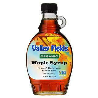 Valley Fields Organic Maple Syrup Robust Taste (8oz)