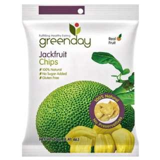 Greenday Snacks Jackfruit (Premium Crispy Fruits)