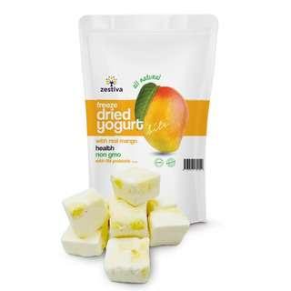 Zestiva Freeze Dried Yogurt Cubes Mango