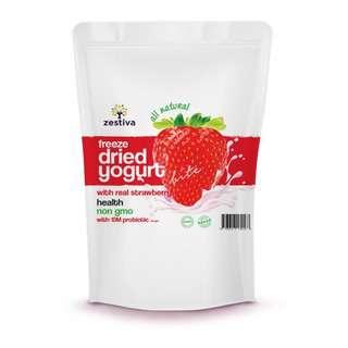 Zestiva Freeze Dried Yogurt Cubes Strawberry