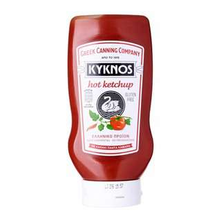 Kyknos Hot Ketchup - Gluten Free by Agora Products