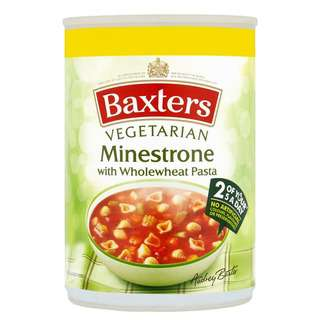 Baxters Minestrone With Wholewheat Pasta Soup